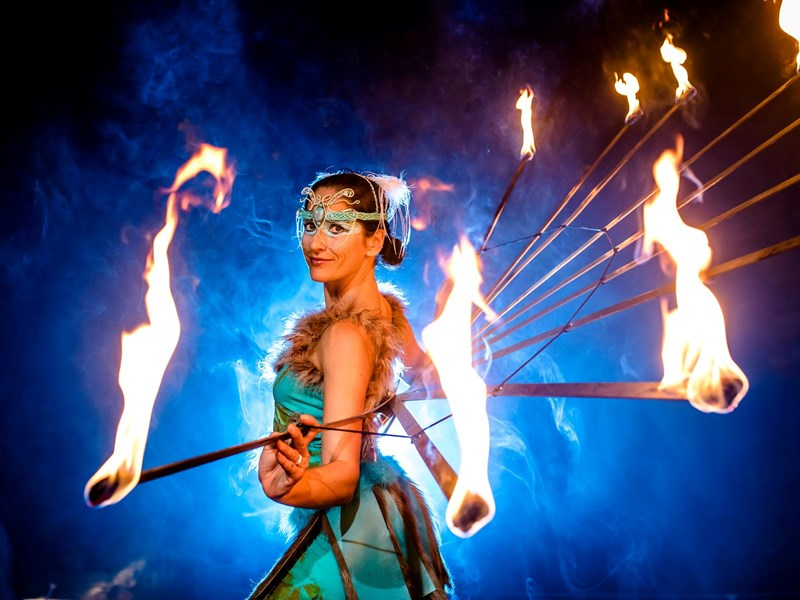 La Santa Damiana - Fire Dancer - Mobile, AL