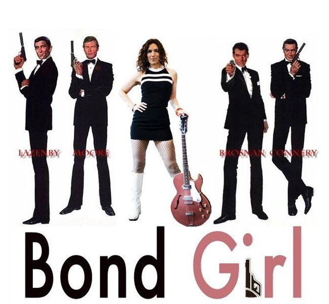 Bond Girl, A James Bond Rock Band - Cover Band - San Francisco, CA