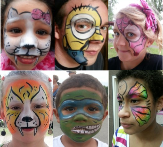 Jazz-N-Dazzle - Face Painter - New Castle, PA