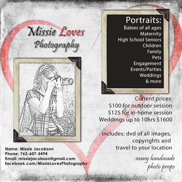 Missie Loves Photography - Photographer - Montrose, MN