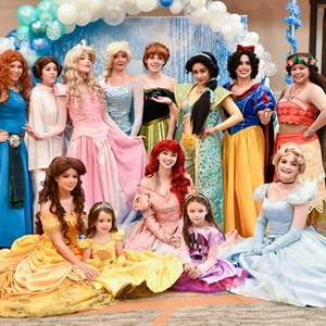 Asheville, NC Princess Party | Songs Sealed Delivered
