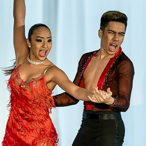 Causey Hip Hop Dancer | Raymond & Jenalyn - World Salsa Champions
