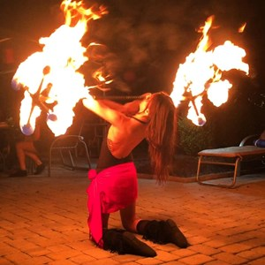 Trenton Fire Dancer | Hoopsie Daisies