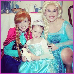 Fort Worth Costumed Character | Part Time Princess Parties
