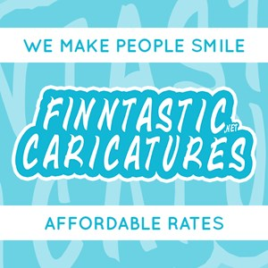 Lincoln City Caricaturist | Finntastic Caricatures