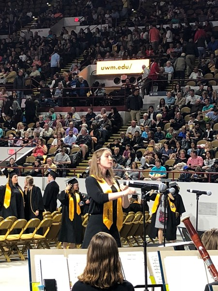 Panther Arena - UWM Commencement