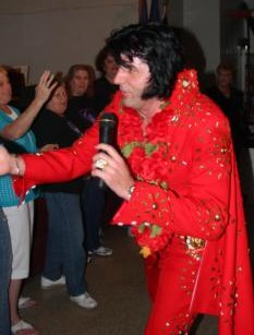 Randy Elvis Meet & Greet at concert