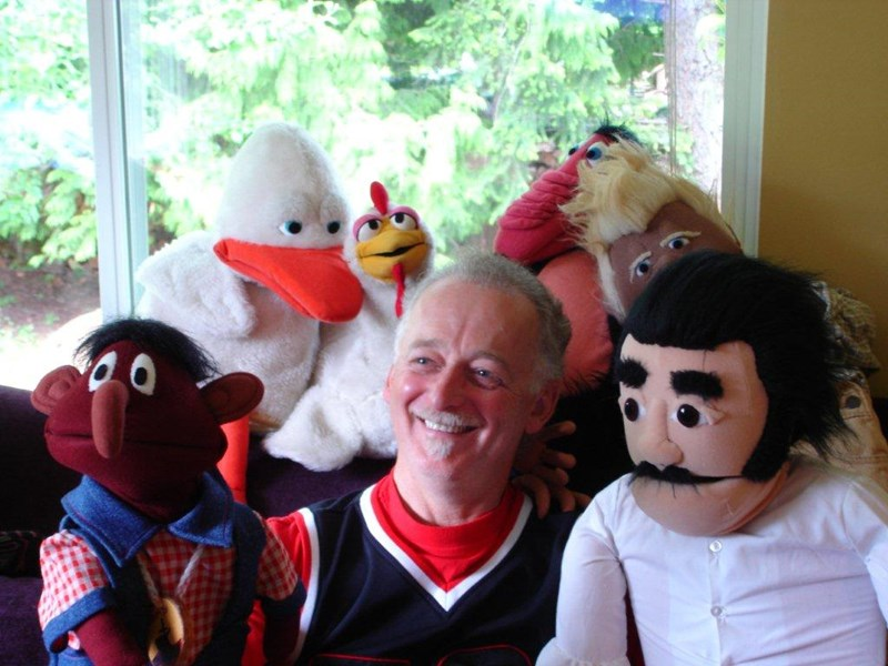 FRIENDS FOREVER PUPPETS with Ken Bishop - Puppeteer - Spruce Grove, AB