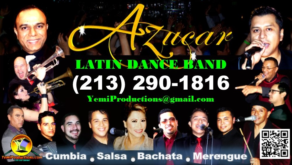Yemi Productions - Latin Band - Los Angeles, CA
