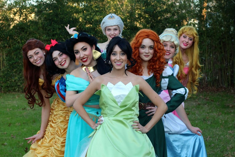 Princesses & Heroes by Teacups and Tiaras - Costumed Character - San Antonio, TX