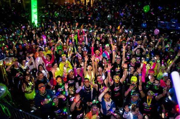 GLOW RUN Las Vegas