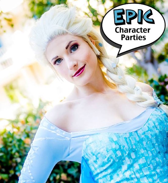 Epic Character Parties - Princess Party - San Diego, CA