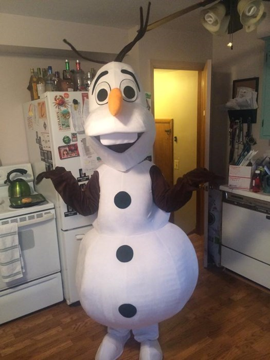 Olaf is now available upon request!