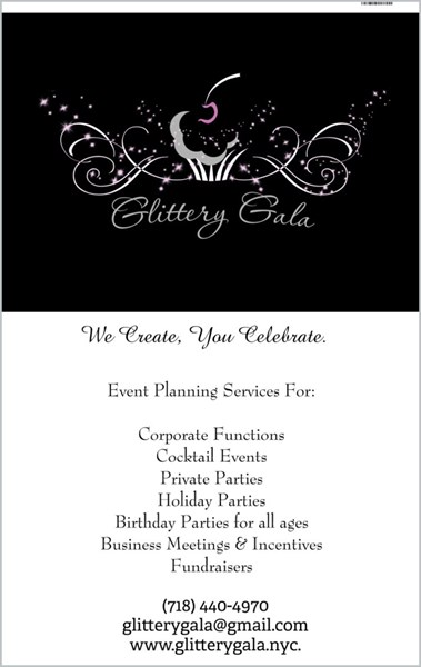 Glittery Gala - Event Planner - Astoria, NY