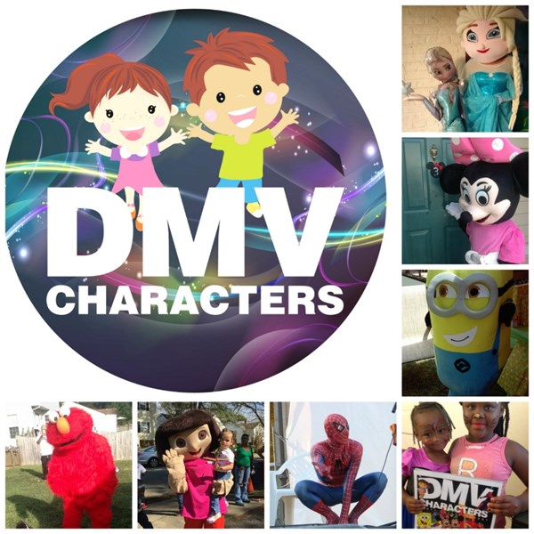 DMV CHARACTERS - Costumed Character - Richmond, VA