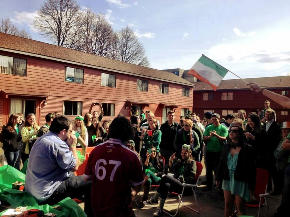 First show, St. Patrick's Day 2013