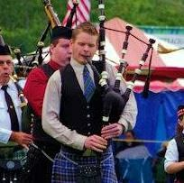 Highland Games opening ceremonies