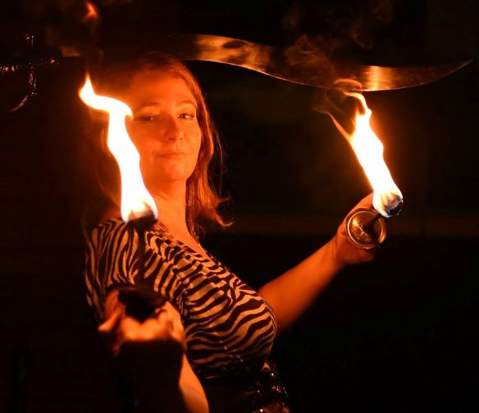 Catalyst Fire Circus - Fire Dancer - Sarasota, FL