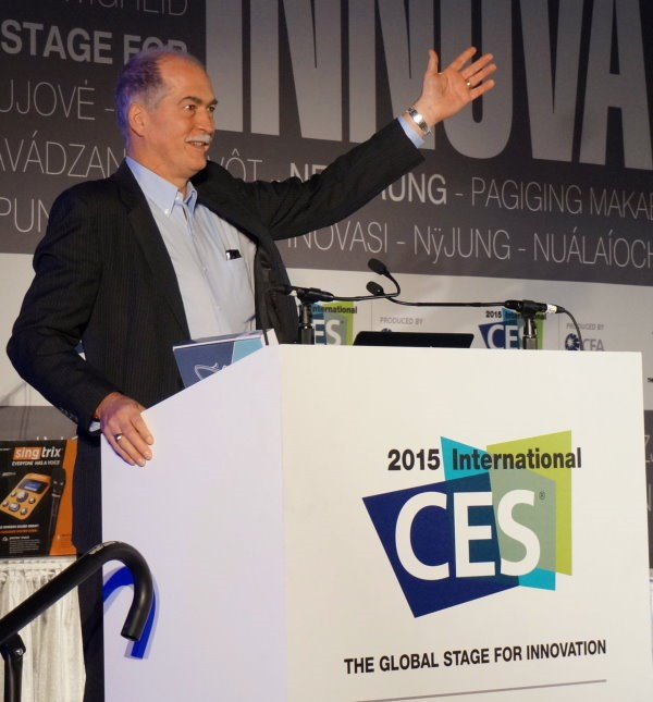 Alfred Poor presenting at CES 2015