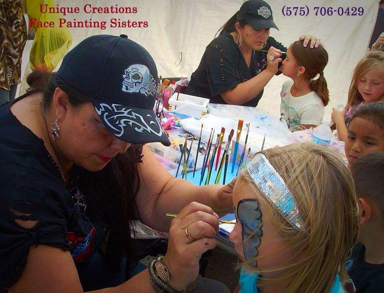 Face Painting Unique Creations  - Carnival Game - Carlsbad, NM