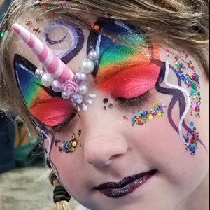 Portland, OR Face Painter | FACE PAINTING-Beyond The Lines face art