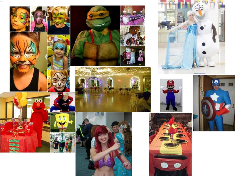 Party Ventures LLC - Costumed Character - Kansas City, MO