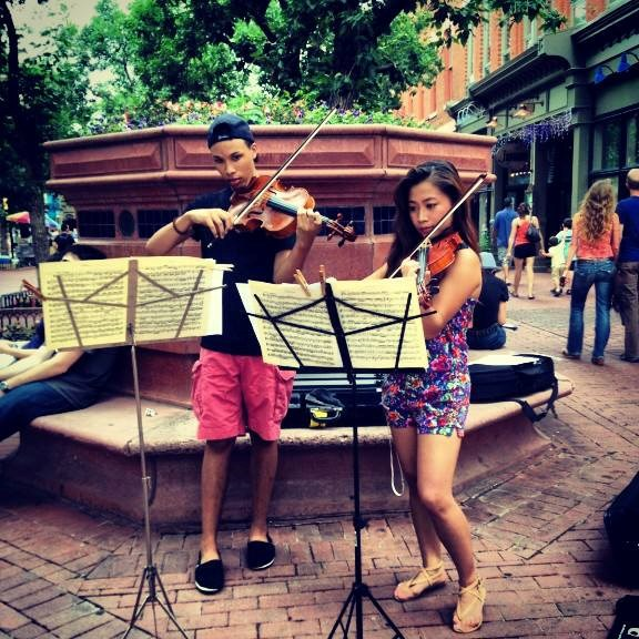 Spreading music in Colorado
