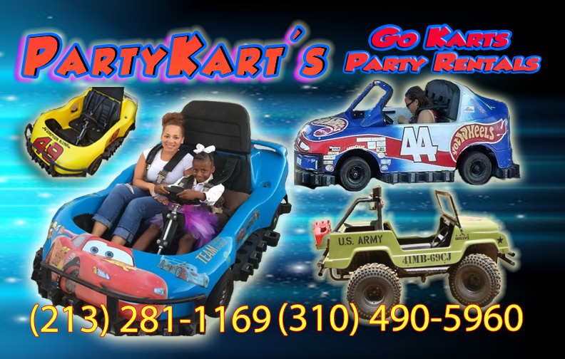 Party Kart's Go Karts Party Rentals - Carnival Ride - Los Angeles, CA