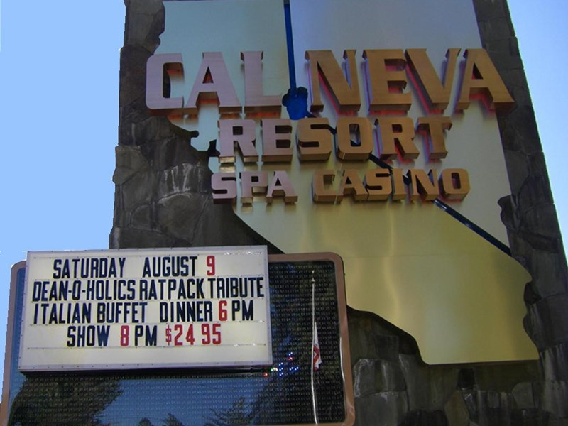 CalNeva Entertainment - Frank Sinatra Tribute Act - Incline Village, NV