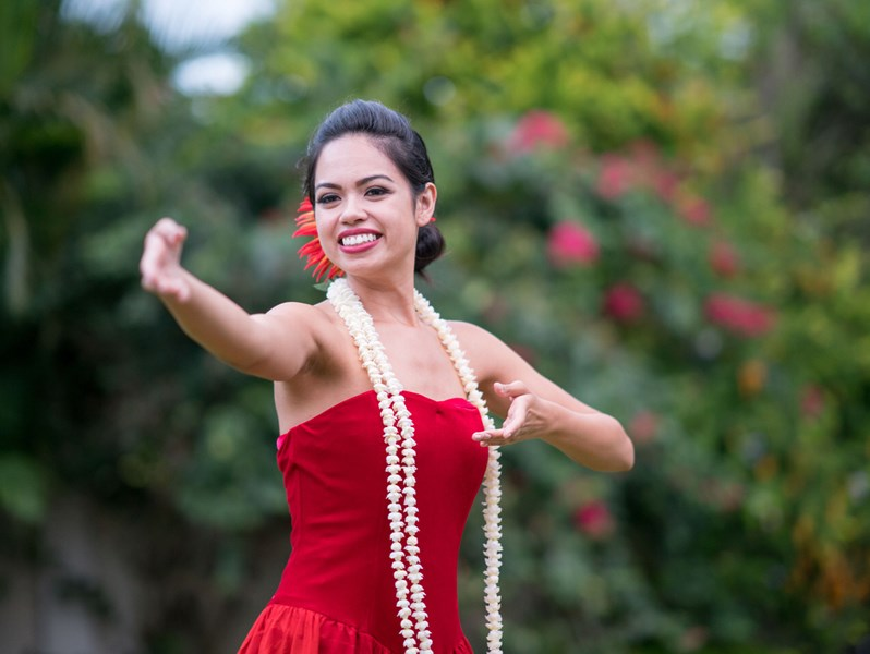 Ring of Fire Island Productions - Hula Dancer - Laie, HI