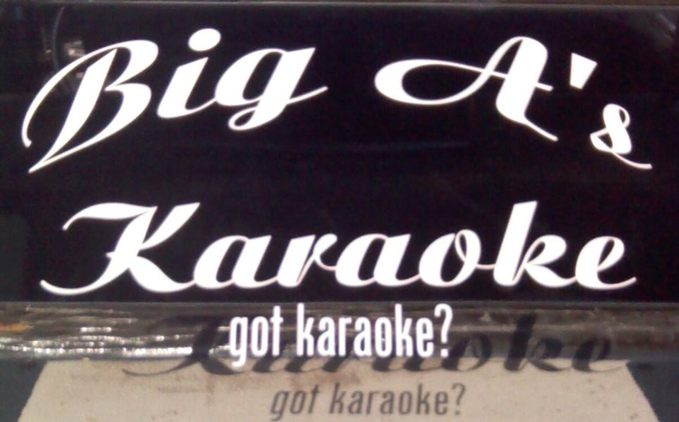 big A's karaoke the singing smackdown! - Karaoke DJ - Hays, NC