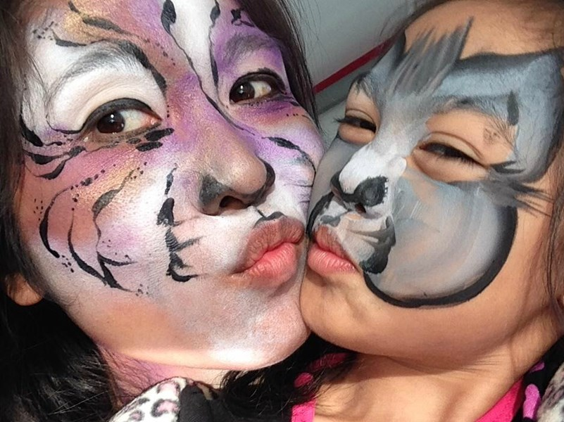 Fancy Nancy Faces - Face Painter - San Diego, CA