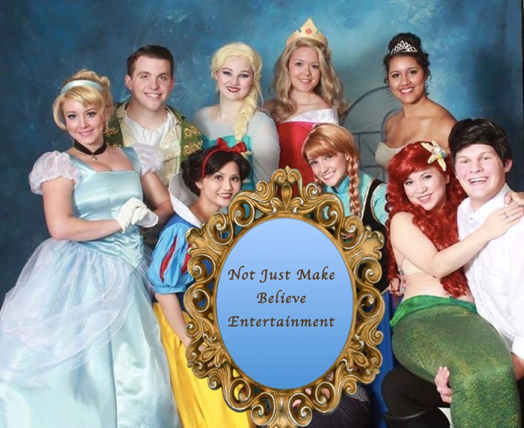 Not Just Make Believe Entertainment - Princess Party - Wichita, KS