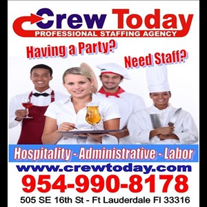 West Palm Beach Bartender | Crew Today Event Staffing