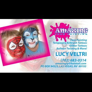 North Las Vegas Face Painter | AMAZING FACE PAINTING