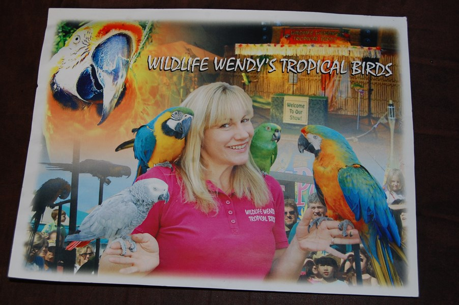 Wildlife Wendy's Tropical Birds - Animal For A Party - Los Angeles, CA
