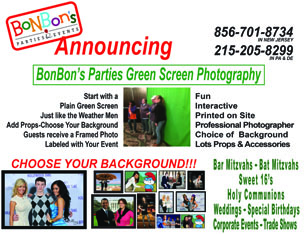 Bonbon's Parties Green Screen Photography - Photo Booth - Blackwood, NJ