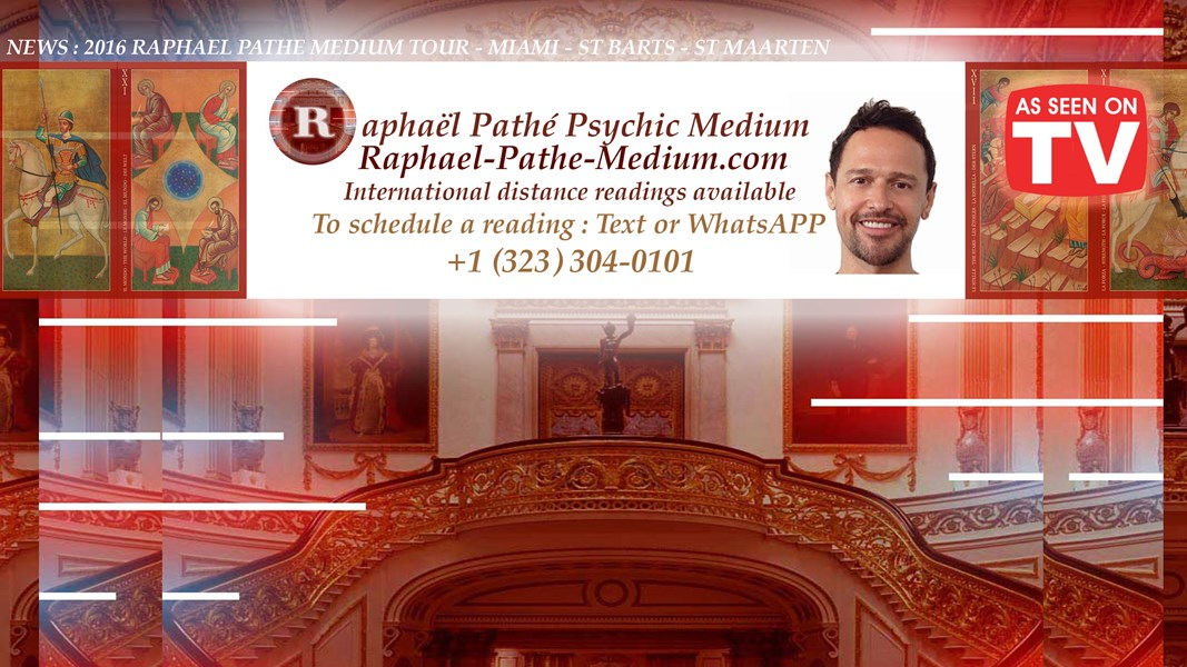 Raphael Pathé, The World's medium & psychic - Psychic - West Hollywood, CA