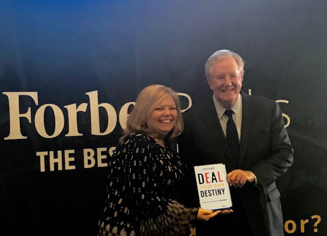 Steve Forbes w/ me and my new book
