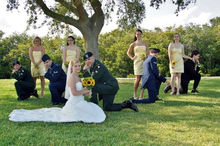military wedding discounts