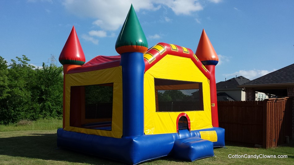 Rainbow Castle Bounce House Rental