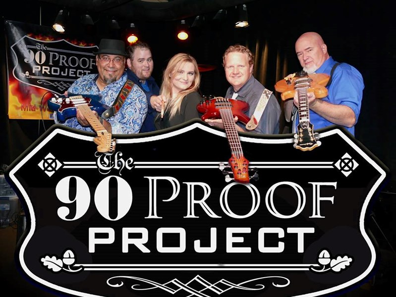 90 Proof Project - Dance Band - Wichita, KS