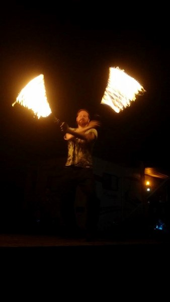 Jester McGnarls - Fire Dancer - Grand Rapids, MI