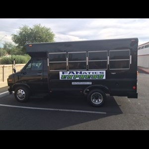Phoenix Bachelorette Party Bus | Fanatics Express 10-12 Person Party Bus