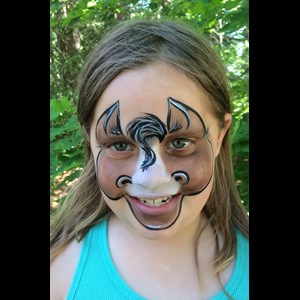 Montezuma Face Painter | Snazzy Face Painting