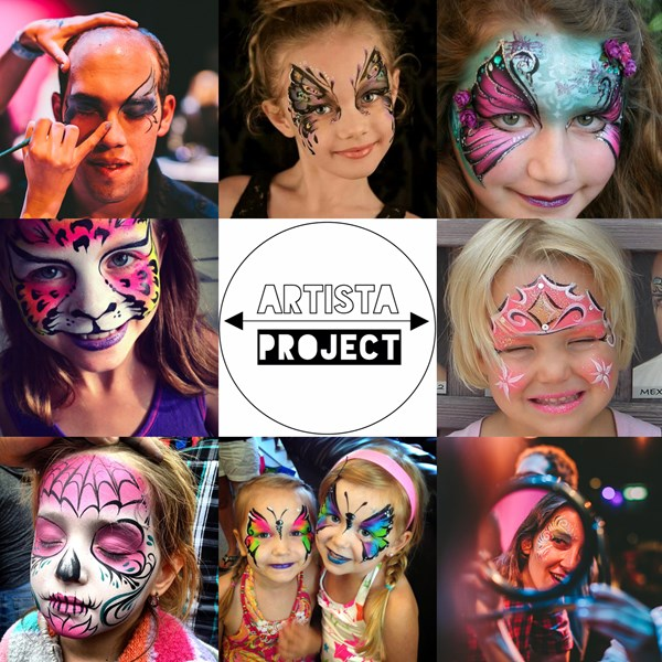 Artista Project - Face Painter - Houston, TX