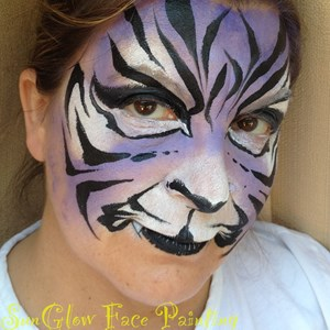 Marmora Face Painter | Sunglow Face Painting