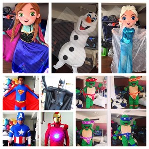 Whitfield Costumed Character | Magical Moments Party & Event Rentals!