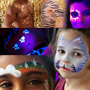 Professional face & body painting - Body Painter - Silver Spring, MD