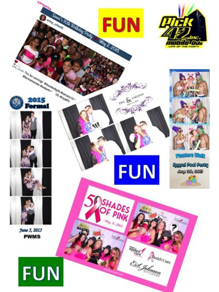 Pick 42 Mobile DJs - Photo Booth Rental - Photo Booth - Charlotte, NC